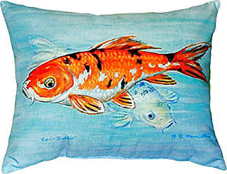 Betsy Drake NC117 Koi No Cord Pillow, 16 x20