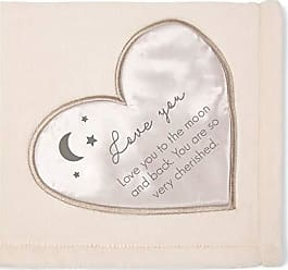 Pavilion Gift Company Love You to The Moon and Back. You are So Very Cherished. Royal Plush Blanket
