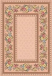 Milliken Carpet Milliken 4000032256 Pastiche Collection Kerri Area Rug 77 x 77 Square Ecru