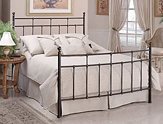 Hillsdale Furniture Hillsdale Furniture 380BKR Providence Bed Set with with Rails, King, Antique Bronze