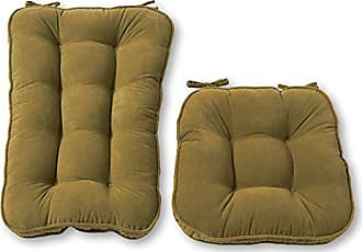 Greendale Home Fashions Jumbo Rocking Chair Cushion Set Hyatt fabric, Moss