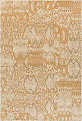 Surya Arabesque 67 x 96 Area Rug, Gold