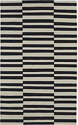 Kaleen Rugs Nomad Collection NOM01-02 Black Flat-Weave 2 x 3 Rug