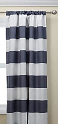Ellery Homestyles ECLIPSE Blackout Curtains for Bedroom - Peabody 42 x 63 Insulated Darkening Single Panel Rod Pocket Window Treatment Living Room, Grey