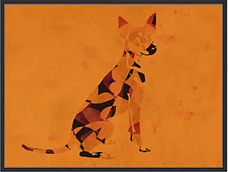 Ptm Images Abstract Furry Framed Wall Art - 9-89145