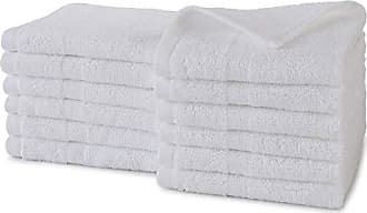 Westpoint Home Martex Purity Wash Cloth Set 12 Pack, Optical White