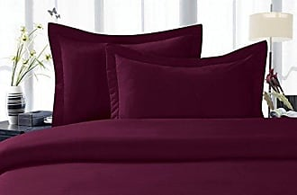 Elegant Comfort 1500 Thread Count Egyptian Quality Super Soft Wrinkle Free 3-Piece Duvet Cover Set, Full/Queen, Purple