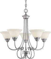 Millennium Lighting Fulton 5-Light Chandelier in Rubbed Silver