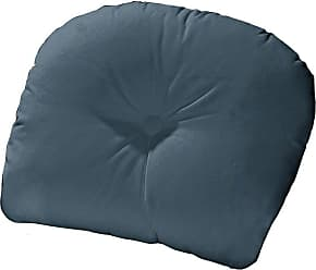 Cushion Source 22 x 20 in. Solid Sunbrella Chair Back Cushion Sapphire Blue - VXHVR-5452