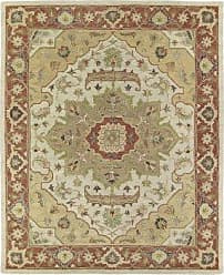 Kaleen Rugs Solomon Collection 4054-05 Gold Hand Tufted 2 x 3 Rug