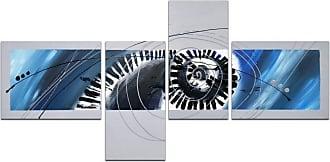 Omax Decor OMAX Decor Spiraling Circles Wall Art - Set of 4 - M 3139
