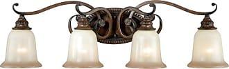 Vaxcel Parkhurst W0129 4 Light Bathroom Vanity Light - W0129