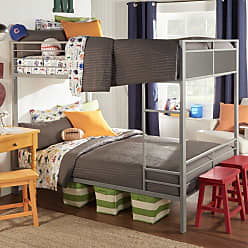 Weston Home Full Over Full Metal Bunk Bed - E730F-1(3A)[BUNK]