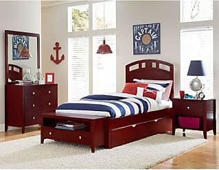 Hillsdale Furniture 31022NT Hillsdale Kids and Teen Pulse Full Trundle, Cherry Arch Bed