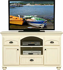 Eagle Furniture American Premiere Customizable 58 in. Entertainment TV Stand with 3 Drawers - 16157WPSW
