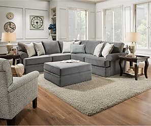 United Furniture Simmons Upholstery Abington Sectional - UDF489-1