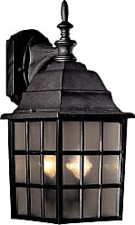 Minka Lavery Lighting 8718-66 2 Light Wall Mount in Black finish