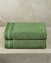 Asciugamani da Bagno Colore Verde Clarissa Hulse