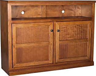 Eagle Furniture Coastal 55 in. Wood Panel Entertainment Center - 72559WPCR
