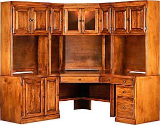 Forest Designs Traditional Modular Desk Unfinished Alder - B1090ABCNNU- TA-UA