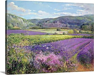 Great Big Canvas Lavender Fields in Old Provence Wall Art - 1048954_24_24X18_NONE