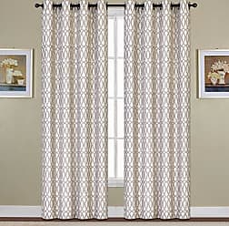 United Curtain Oakland Woven Window Panel, 54 by 63, Mocha, 54 X 63