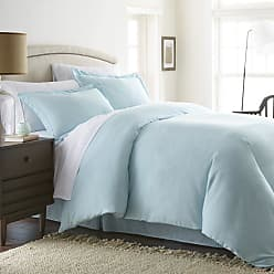 Noble Linens Solid Duvet Set by Noble Linens Chocolate - NL-DUVET-QUEEN-CHOCOLATE