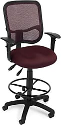 OFM 130-AA3-DK-A03 Mesh Comfort Series Ergonomic Task Chair with Arms and Drafting Kit