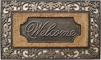 First Impression Large Welcome Outdoor Brush Door Mat - A1HOME200029
