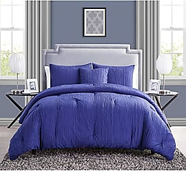 VCNY Home VCNY Home Crinkle Textured Comforter Set, Full/Queen, Blue
