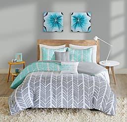 INTELLIGENT DESIGN ID10-747 Comforter Set, Twin/Twin XL, Aqua