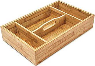 Faveco Besteckkasten Holz Braun 28/x 4/x 36/cm