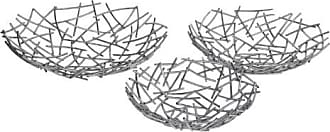 Privilege International Wire Mesh Tray - Set of 3
