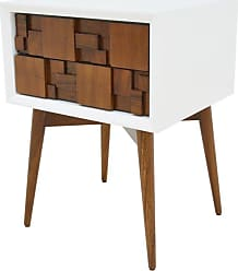 222 Fifth Melange 1 Drawer Nightstand - 7035BR003A1I66