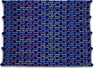 Pavilion Gift Company Mom Love Plush Best Mom Blanket 60 x 50, Solid, Navy Blue