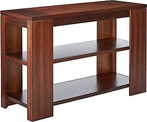 Progressive Furniture Waverly Sofa Table, Vintage Walnut