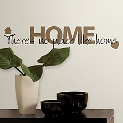 RoomMates No Place Like Home Peel and Stick Wall Decals - RMK1397SCS