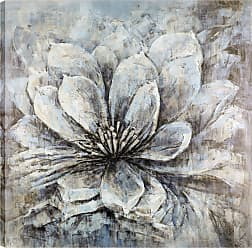 Art Maison Canada Flower Bloom Canvas Wall Art - HAYIMP7565