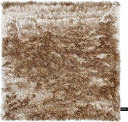 Benuta Shaggy Hochflor Teppich Whisper Quadratisch Hellbraun 150x150 Cm |  Langflor Teppich Für Schlafzimmer Und Wohnzimmer