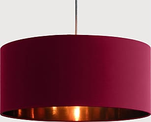 made com oro lampenschirm 45 cm weinrot und kupfer