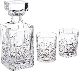 Waterford Brady Decanter & DOF Pair, Clear
