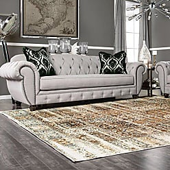Superior Quality Soft, Plush and Durable 10mm Moisture and Mildew Resistant Waterford Collection Area Rug, 2.6 x 8 Ivory
