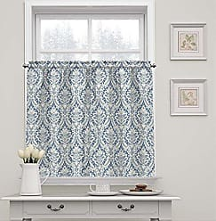 Ellery Homestyles Waverly 15424052036CRF Donnington 52-Inch by 36-Inch Window Tier Pair, Cornflower