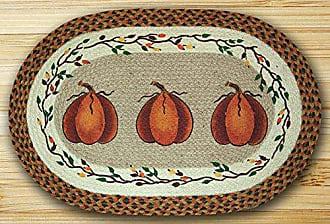Earth Rugs 88-2745-222HP Rug, 27 x 45, Brown/Harvest Orange