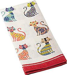Ulster Weavers s Groovy Cats Linen Tea Towel