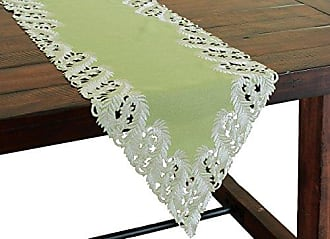 15 by 72-Inch Xia Home Fashions Holiday Tartan Christmas Table Runner