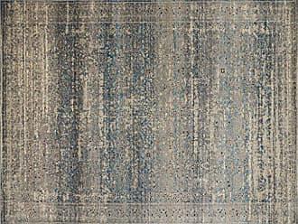 Loloi Rugs Loloi MILLMV-02GYBB770R Millennium Collection Area Rug, 77 x 77, Grey/Blue