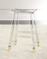 Interlude Home Dyer Acrylic Counter Stool