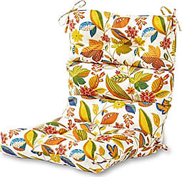 Greendale Home Fashions Indoor/Outdoor High Back Chair Cushion, Esprit Multi