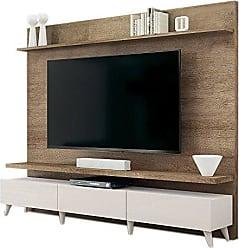 Imcal Painel para TV 60 Polegadas Boss Madeira Touch com Off White 218 cm
